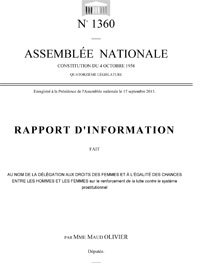 Rapport d'information Maud Olivier
